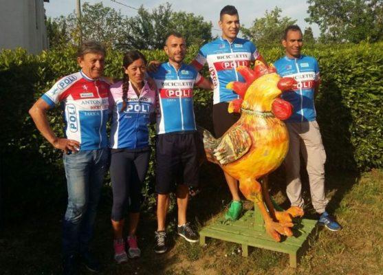 I vincitori del 22° Giro dei Quattro Comuni 2017