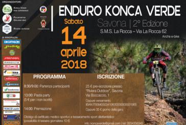 A Savona la seconda edizione dell'Enduro Konca Verde